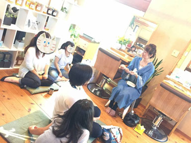 喜楽なお産と子育ての会×キトテノワ ランチの会2018-09-14