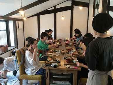 喜楽なお産と子育ての会×キトテノワ ランチの会2018-04-20