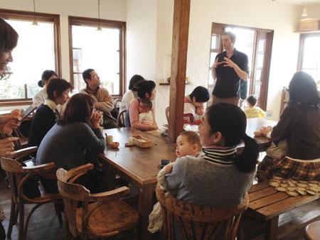 マックスの講演会in福井2012年2月24日、当日の様子